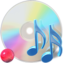 unmount, music, Cdaudio Gainsboro icon