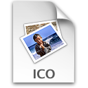 Ico Black icon