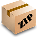 Zip BurlyWood icon