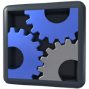 gears, configuration, Setting, option, Configure, config, preference, Panel DarkSlateGray icon