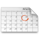 Schedule, Vcalendar WhiteSmoke icon