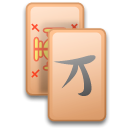 Kmahjongg Black icon