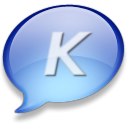 Konversation Black icon