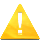 message box, Critical Gold icon