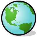 earth, world, planet, Browser, globe MediumTurquoise icon