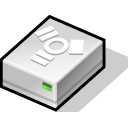 Hd, Firewire Black icon