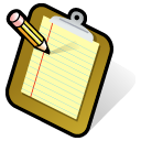 Clipboard Black icon