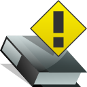 Book, reading, exclamation, Error, wrong, Alert, Folder, warning, read, important Icon