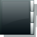 Blank, Folder, Empty DarkSlateGray icon