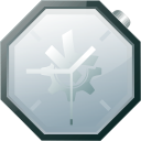 history, Clock, time, alarm clock, Alarm DarkGray icon