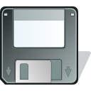 Floppy, save, unmount DimGray icon