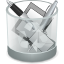Edittrash DarkGray icon
