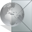 Email, Letter, mail, Message, envelop, Get DarkGray icon