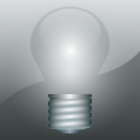 Light bulb, khelpcenter DarkGray icon
