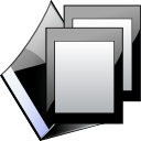 Folder, open LightSteelBlue icon