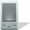 Mobile, pda, Black Gray icon