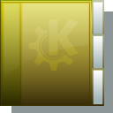 gold, Folder DarkOliveGreen icon