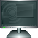 monitor, Display, screen, Computer DarkSlateGray icon