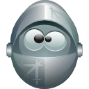 knight, krusader LightSlateGray icon