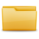 Folder, normal Khaki icon