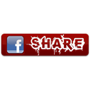 Facebook DarkRed icon