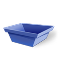 Empty, Trash Black icon