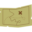 Map DarkKhaki icon