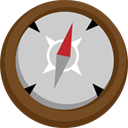 compass LightGray icon