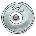 Cd DarkGray icon