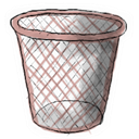 Trash, Empty Snow icon