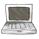 Computer DimGray icon