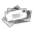 mail Snow icon