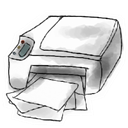 printer Snow icon
