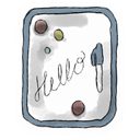 Whiteboard Snow icon