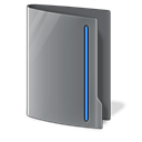Closed, Folder Black icon