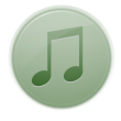 music DarkSeaGreen icon