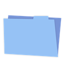 Folder, Blue LightSkyBlue icon