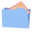 mail LightSkyBlue icon