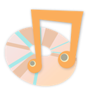 media player SandyBrown icon
