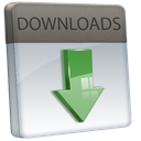 Downloads Silver icon