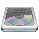 Dvd Black icon