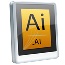 File, Ai Black icon