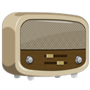 radio Gray icon