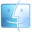 Finder SteelBlue icon