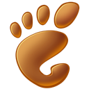 Gnome Black icon