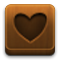 love SaddleBrown icon