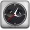 Clock DarkSlateGray icon