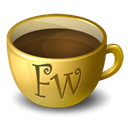 Coffee, firework Icon