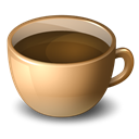 original, coffeecup Black icon