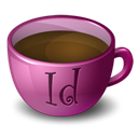 Indesign, Coffee Black icon